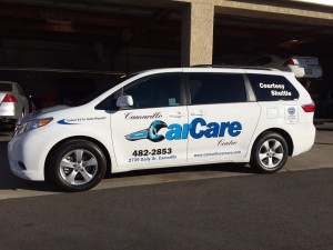 Courtesy Customer Shuttle | Camarillo Car Care Center